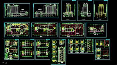 建筑施工图...